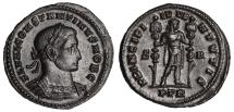 Constantine I Ae. follis (as Caesar)