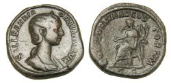 Ancient Coins - Orbiana Ae. sestertius