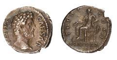 Ancient Coins - Aelius Ar denarius (AD 137)