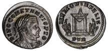 Constantius I Ae. follis (posthumous)