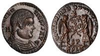 Ancient Coins - Magnentius Ae. 22 (AD 350 – 353)