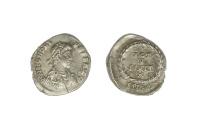 Ancient Coins - Honorius Ar. siliqua (AD 393-402)