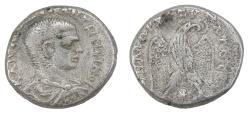 Ancient Coins - Diadumenian Ar. tetradrachm (AD 218)