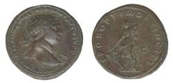Ancient Coins - Trajan Ae. sestertius (AD 103-111)
