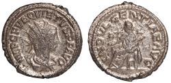 Ancient Coins - Quietus billon antoninianus (AD 260 – 261)
