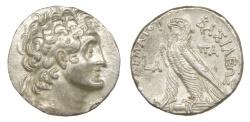 Ancient Coins - Ptolemy VI Philomentor Ar. tetradrachm (180-145 BC)