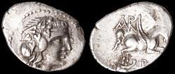 Ancient Coins - Corcyra Ar. didrachm (229-248 BC)
