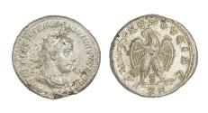 Ancient Coins - Volusian Ar. tetradrachm (AD 251-253)