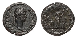 Ancient Coins - Hadrian Ae. dupondius