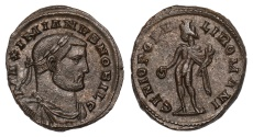 Ancient Coins - Galerius Ae. follis (as Caesar)