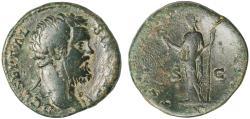 Ancient Coins - Clodius Albinus Ae. sestertius (194 - 195 AD)
