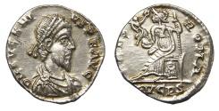 Ancient Coins - Eugenius Ar. siliqua