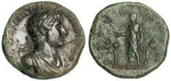 Ancient Coins - Hadrian Ae. sestertius