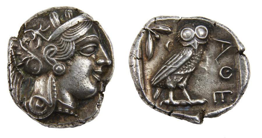 Ancient Coins - Athens Ar. tetradrachm