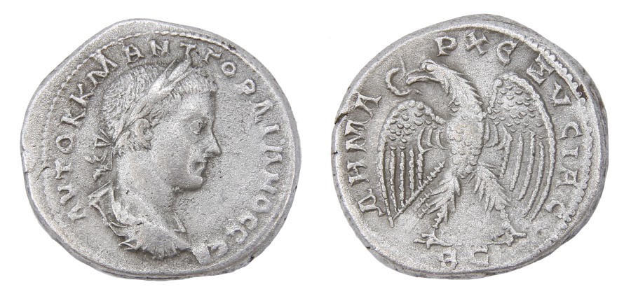 Ancient Coins - Gordian III Ar. tetradrachm