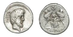 Ancient Coins - Tituria, AR Denarius