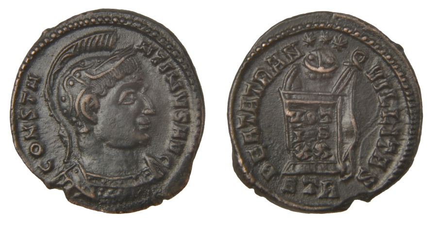 Ancient Coins - Constantine I Ae. 3