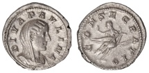 Ancient Coins - Paulina Ar. denarius (wife of Maximinus I) - rare