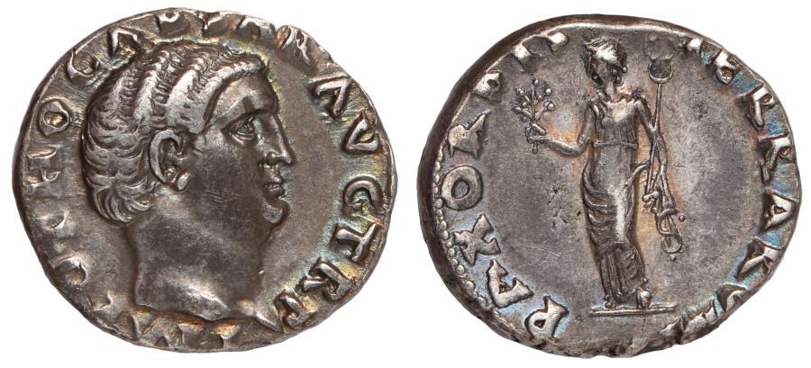 Ancient Coins - Otho Ar. denarius (AD 69)