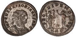 Ancient Coins - Florianus billon antoninianus (276 AD)