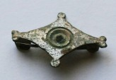 Ancient Coins - Roman fibula (brooch),plate early type,mid to late 1 st century AD.