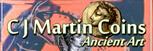 C J Martin Coins